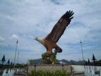 Langkawi - Eagle Square near Kuah Jetty