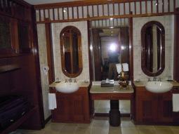 Partial Sea view room's bathroom - Langkawi Taj Vivanta Rebak island resort