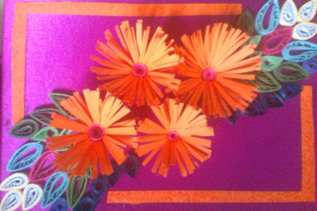 Gift Ideas Diy Hand Crafted Paper Quilled Greeting Card