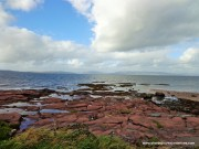 View of Ocean from Isle of Cumbrae Millport in scotland